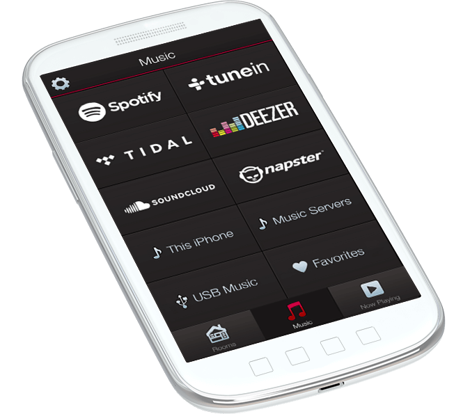 Music Streaming by HEOS App